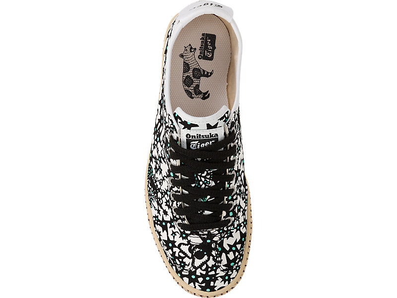 Mexico 66 Espadrille Black / White 21 TP