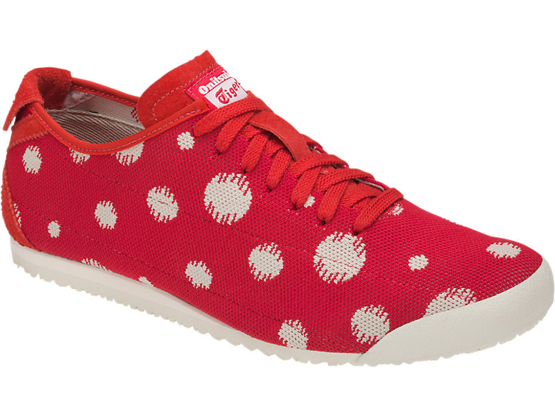 Mexico 66 Knit Classic Red/Cream 5 FR