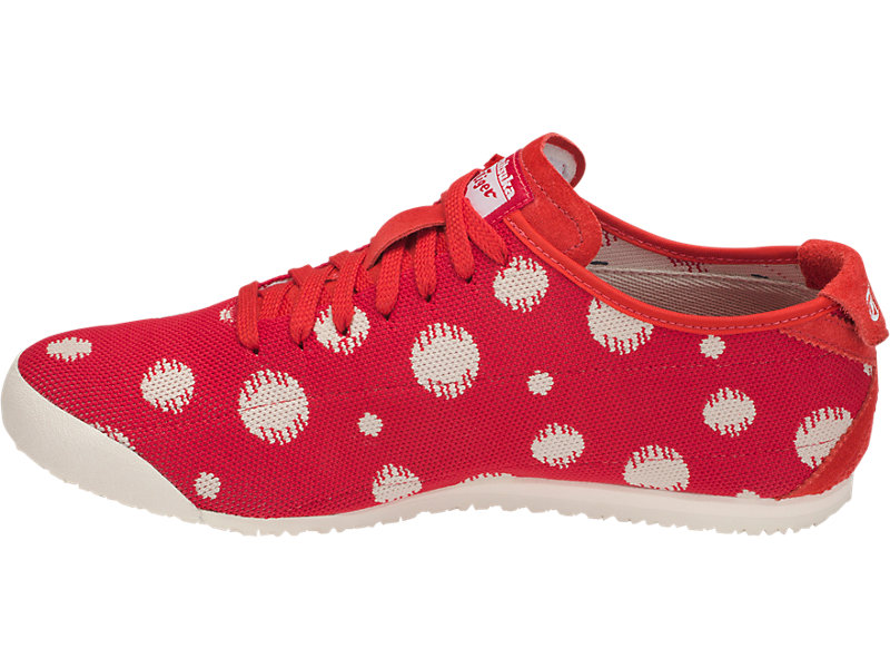 Mexico 66 Knit Classic Red/Cream 9 FR
