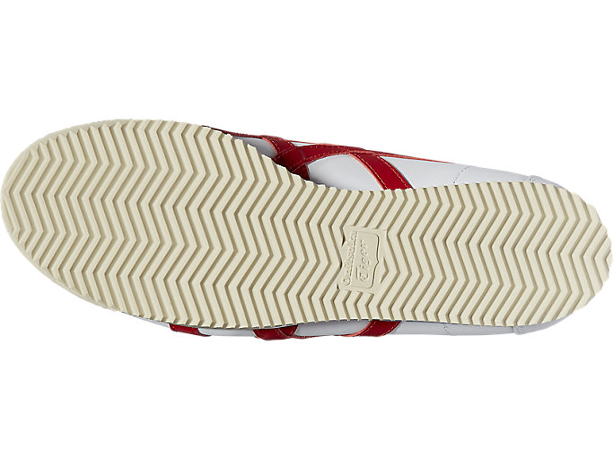 Bottom view of Tiger Corsair, WHITE/TRUE RED