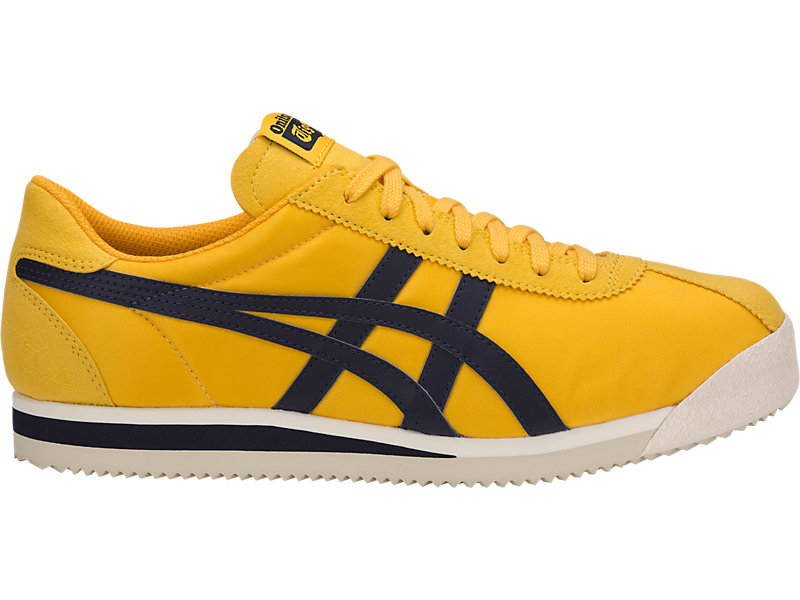 asics tiger yellow