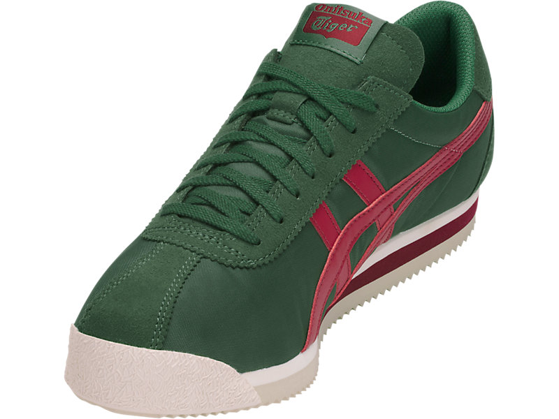 Tiger Corsair Hunter Green/Biking Red 13 FL