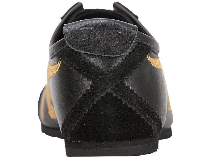 Black//Black Leather Lifestyle Shoes M ONITSUKA TIGER D816L.9090 MEXICO 66 Mn´s