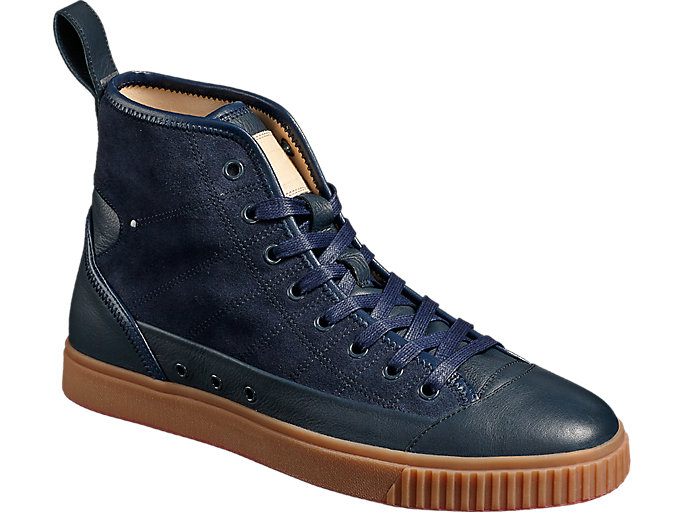 Front Right view of OK Basketball Italy, DARK DENIM/DARK DENIM