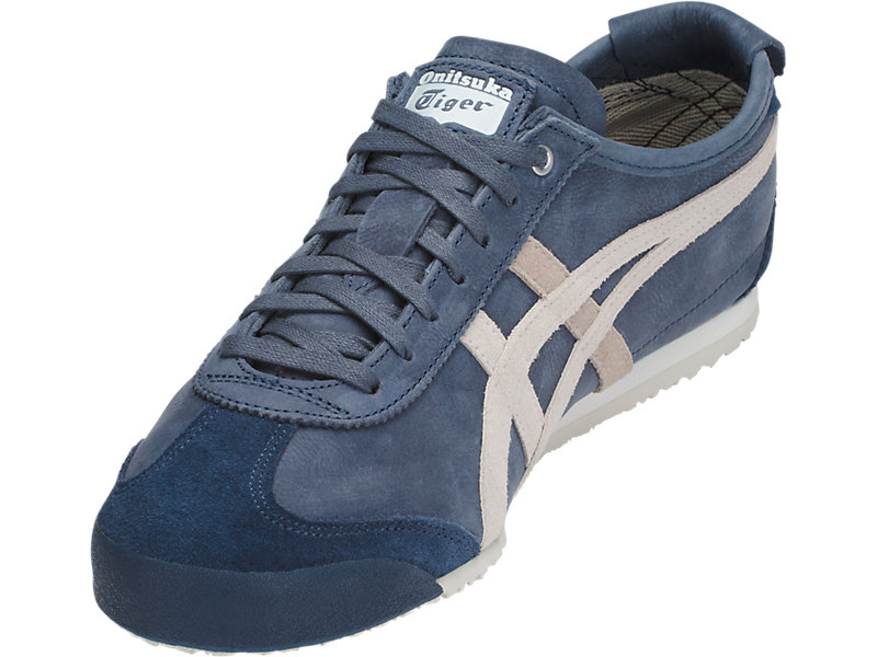 pretty nice 0ad03 dc119 Mexico 66 | Dark Blue/ Vaporous Grey | Onitsuka Tiger United ...