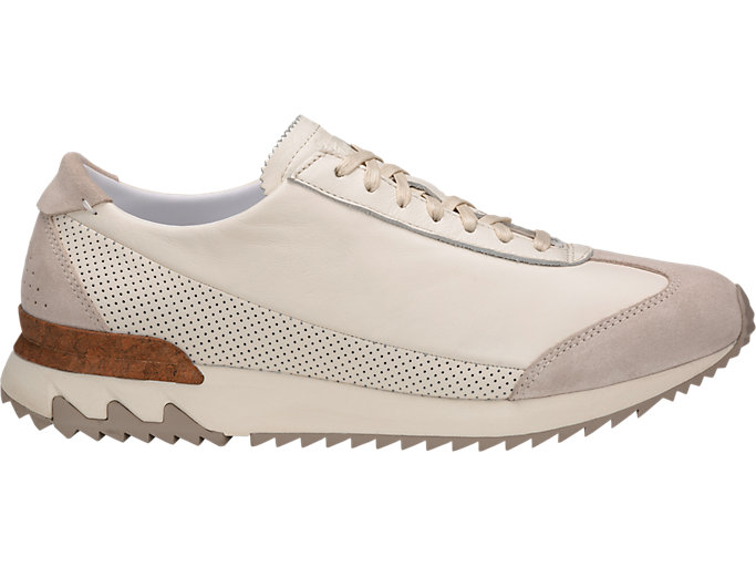 Right side view of TIGER MHS CL, CREAM/CREAM