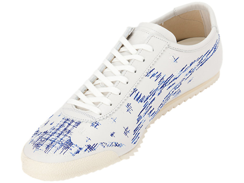 Mexico 66 Deluxe WHITE/ASICS BLUE 13 FL
