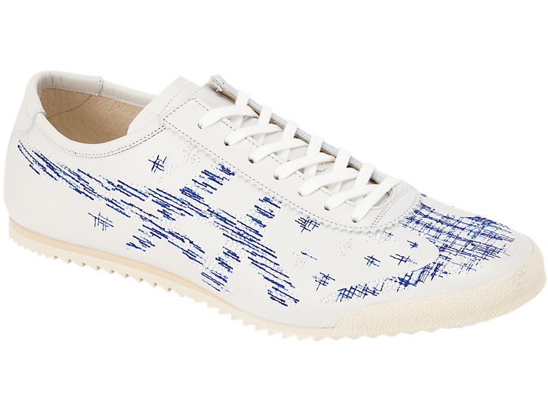 Mexico 66 Deluxe WHITE/ASICS BLUE 5 FR