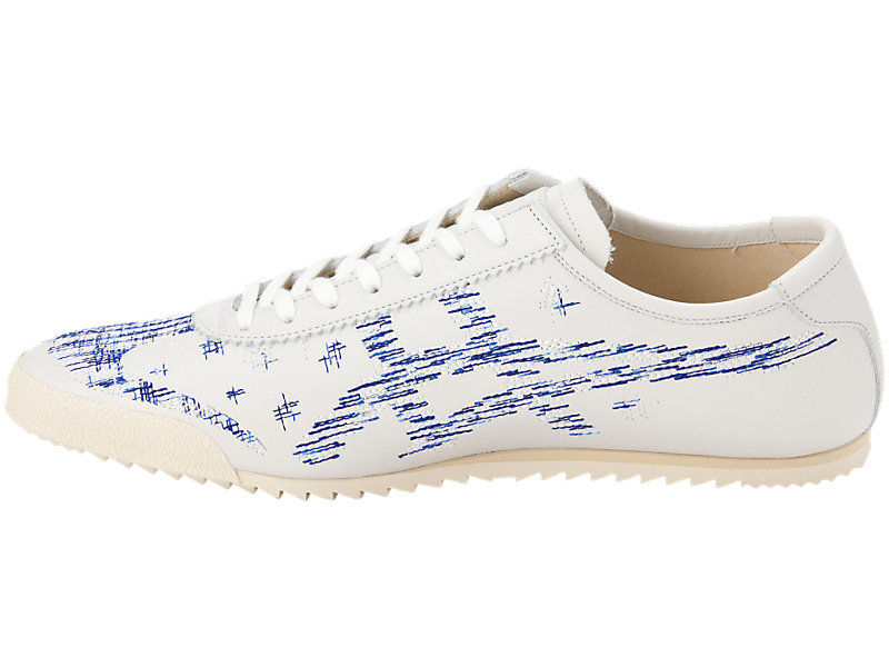 Mexico 66 Deluxe WHITE/ASICS BLUE 9 FR