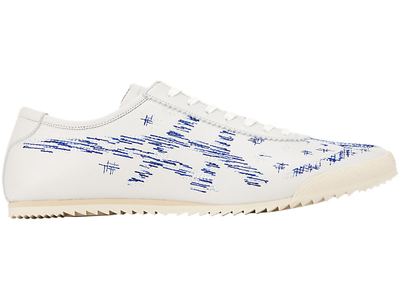 Mexico 66 Deluxe WHITE/ASICS BLUE 1 RT