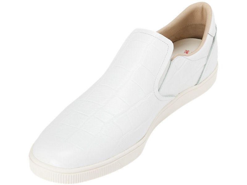 Tiger Slip-on Deluxe WHITE/WHITE 13 FL