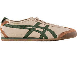 Right side view of Mexico 66, BEIGE/GRASS GREEN