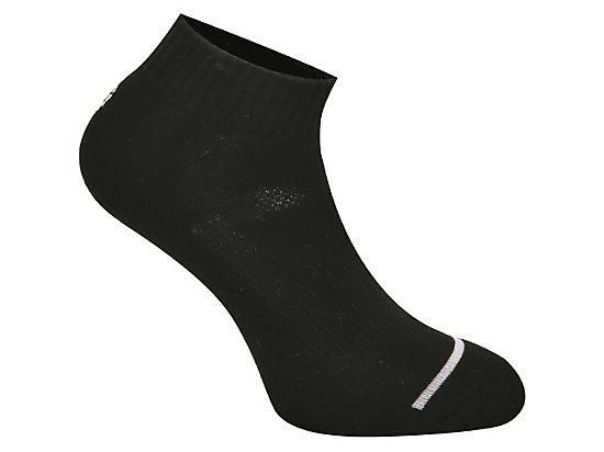 S VERY SHORT SOCKS BLACK/WHITE