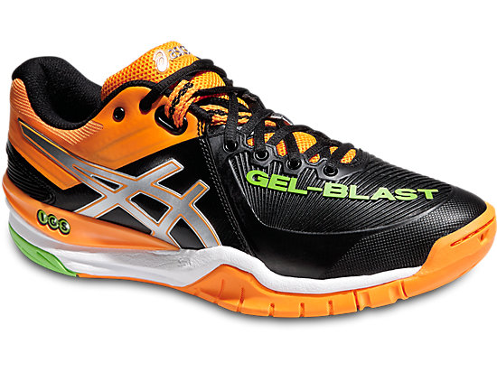 GEL-BLAST 6 BLACK/SILVER/BLUE 3