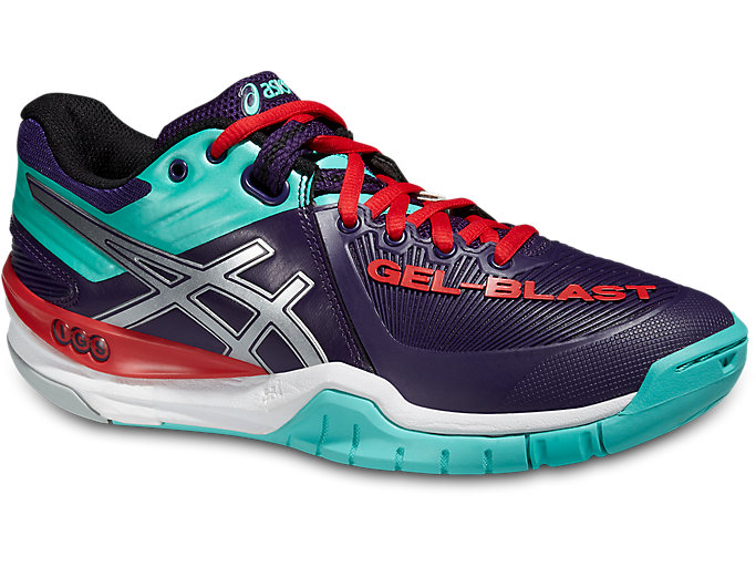 Women's GEL-BLAST 6 | DARKBERRY/SILVER/AQUA MINT | Tennis ...