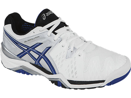 GEL-Resolution 6 White/Blue/Silver 7