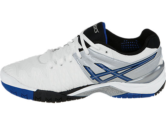 GEL-Resolution 6 White/Blue/Silver 15