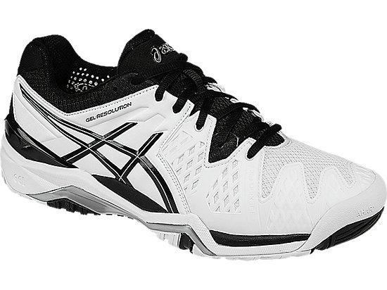 GEL-Resolution 6 White/Black/Silver 7