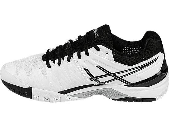 GEL-Resolution 6 White/Black/Silver 15