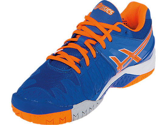 GEL-Resolution 6 Blue/Flash Orange/Silver 11