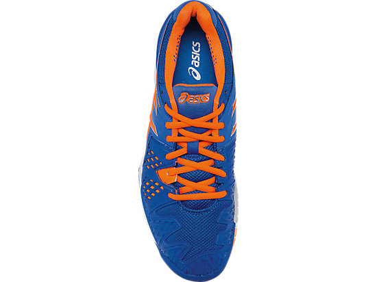 GEL-Resolution 6 Blue/Flash Orange/Silver 23
