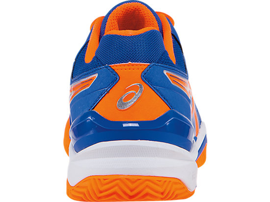 GEL-Resolution 6 Clay Court Blue/Flash Orange/Silver 27