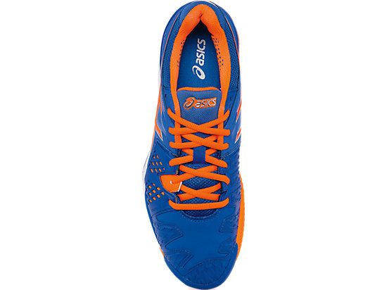 GEL-Resolution 6 Clay Court Blue/Flash Orange/Silver 23