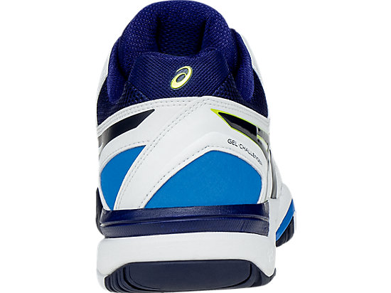 GEL-Challenger 10 White/Lime/Indigo Blue 27