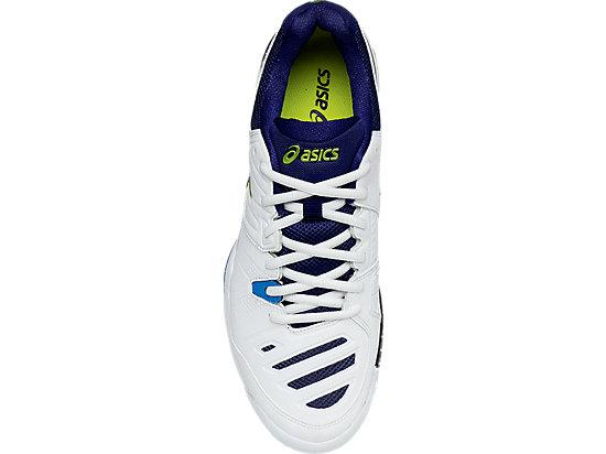 GEL-Challenger 10 White/Lime/Indigo Blue 23
