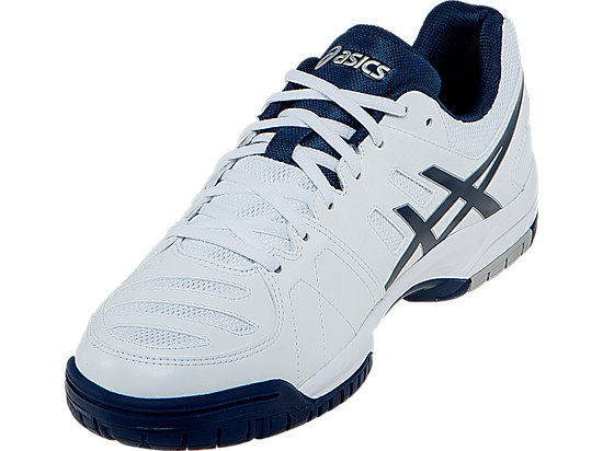 GEL-Dedicate 4 White/Navy/Silver 11