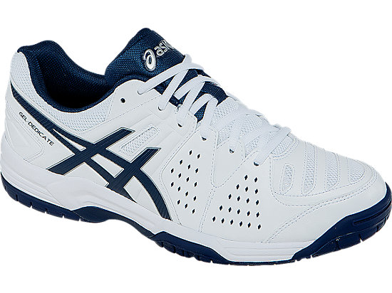 GEL-Dedicate 4 White/Navy/Silver 7