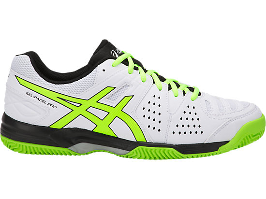 GEL-PADEL PRO 3 SG, WHITE/FLASH YELLOW