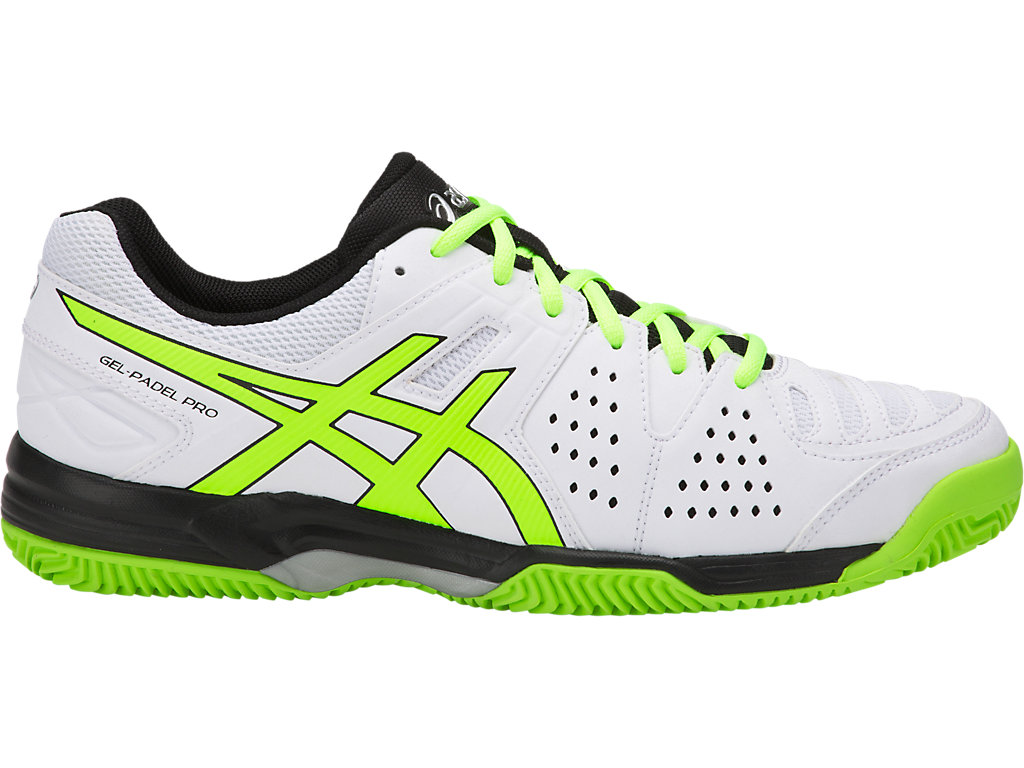 c1df302bc2 GEL-PADEL PRO 3 SG | Men | WHITE/FLASH YELLOW | Men's Shoes | ASICS