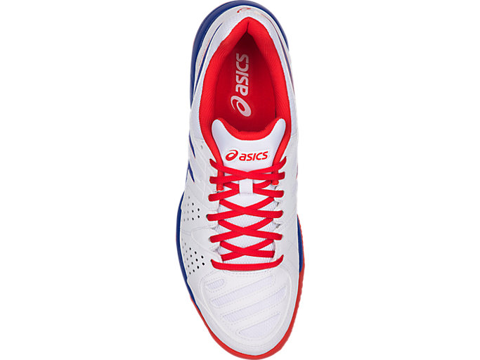 Top view of GEL-PADEL™ PRO 3 SG, WHITE/ASICS BLUE