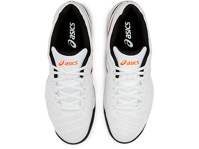 Top view of GEL-PADEL™ PRO 3 SG, WHITE/BLACK