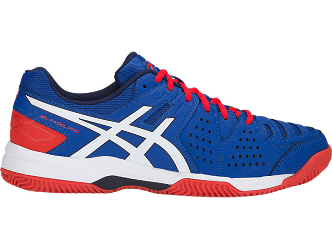 Right side view of GEL-PADEL PRO 3 SG, ASICS BLUE/WHITE