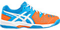 GEL-PADEL PRO 3 SG:DIVA BLUE/WHITE/SHOCKING ORANGE