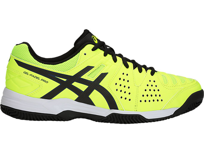 Right side view of GEL-PADEL PRO 3 SG, FLASH YELLOW/BLACK