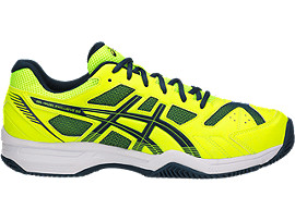 GEL-PADEL EXCLUSIVE 4 SG, SAFETY YELLOW/DARK BLUE