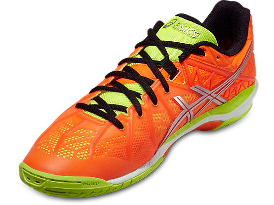GEL-FIREBLAST 2 HOT ORANGE/SILVER/FLASH YELLOW 7