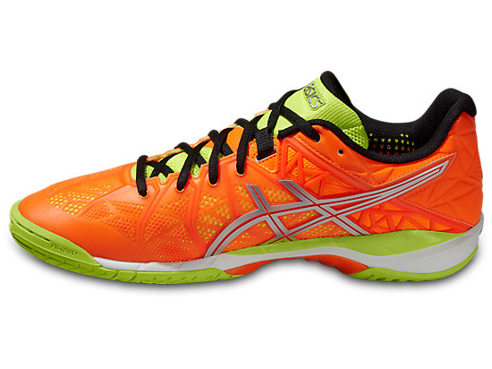 GEL-FIREBLAST HOT ORANGE/SILVER/FLASH YELLOW 11
