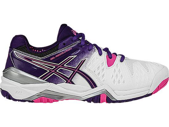 GEL-Resolution 6 White/Parachute Purple/Hot Pink 3