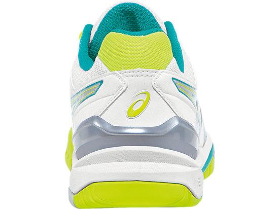 GEL-Resolution 6 White/Emerald Green/Silver 27