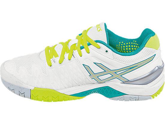 GEL-Resolution 6 White/Emerald Green/Silver 15