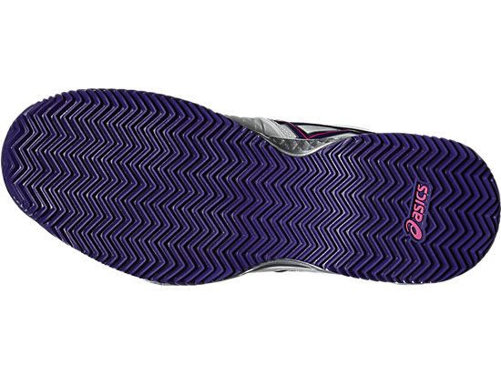 GEL-RESOLUTION 6 CLAY WHITE/PARACHUTE PURPLE/HOT PINK 7