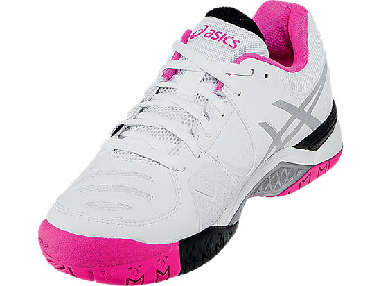 GEL-Challenger 10 White/Pink Glo/Black 11