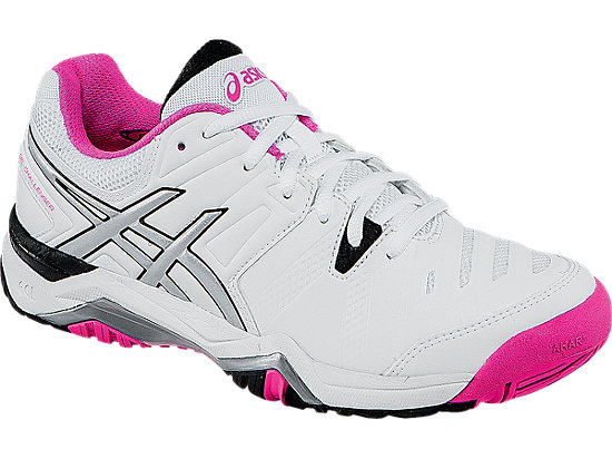 GEL-Challenger 10 White/Pink Glo/Black 7