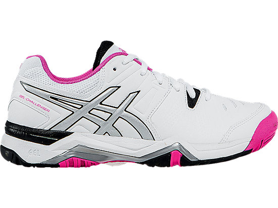 GEL-Challenger 10 White/Pink Glo/Black 3