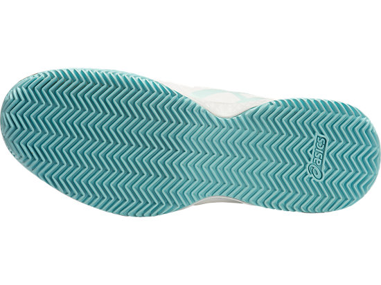 GEL-CHALLENGER 10 (CLAYCOURT OUTSOLE) WHITE/CRYSTAL BLUE/BLUE STEEL 7