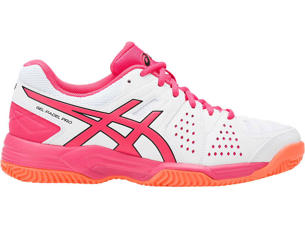 Chaussures Asics Gel Padel rouges femme NcK2H1h